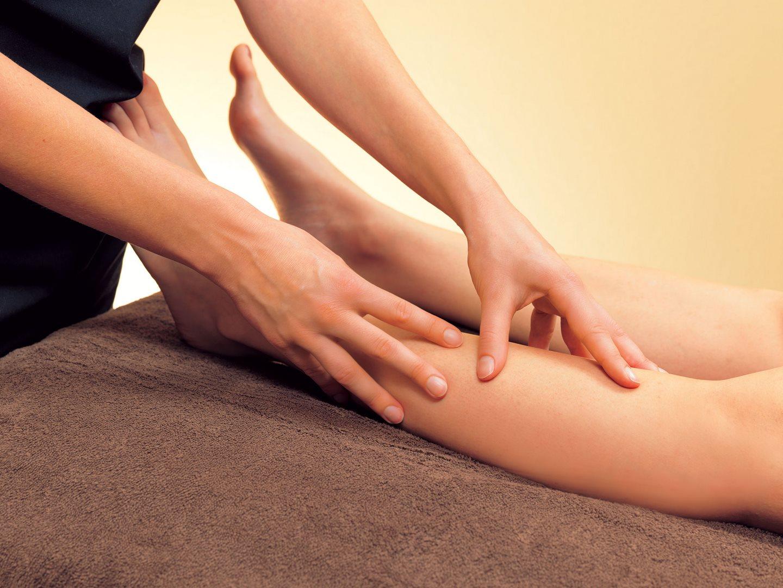 massage jambes luzéa